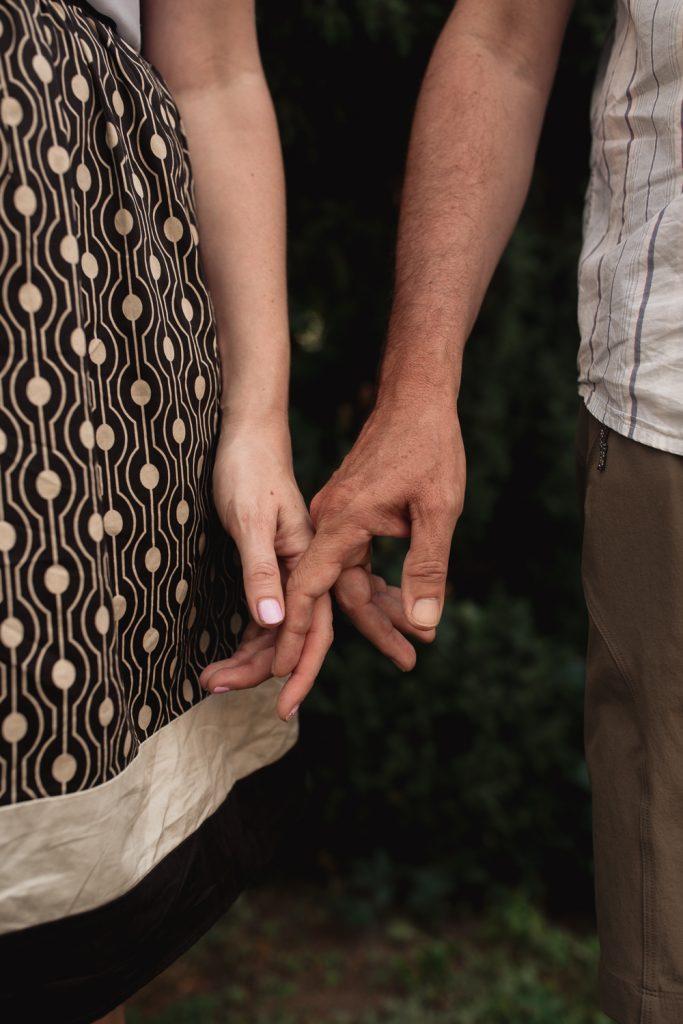 couples' hands