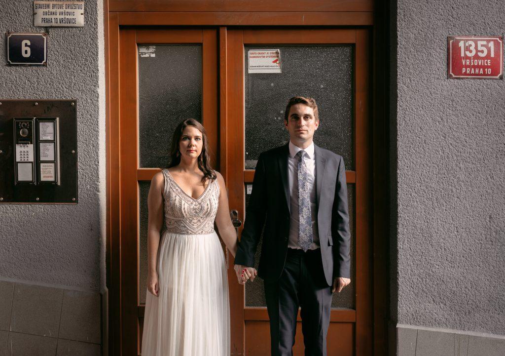 Prague wedding photos